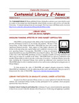 Centennial Library E-News, January/February 2005