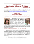 Centennial Library E-News, September/October 2004