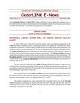 Centennial Library E-News, November 2002