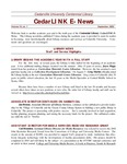 Centennial Library E-News, September 2002