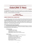 Centennial Library E-News, May 2002