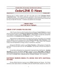 Centennial Library E-News, October 2001