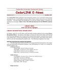 Centennial Library E-News, April/May 2001