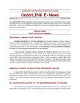 Centennial Library E-News, February 2001