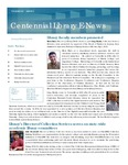 Centennial Library E-News, January/February 2013 by Cedarville University