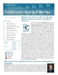Centennial Library E-News, November/December 2013 by Cedarville University
