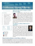 Centennial Library E-News, November/December 2014 by Cedarville University