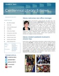 Centennial Library E-News, September/October 2015