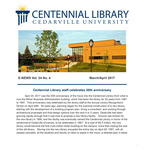 Centennial Library E-News, March/April 2017