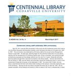 Centennial Library E-News, March/April 2017