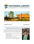 Centennial Library E-News, March/April 2018 by Cedarville University