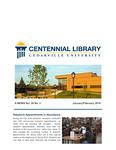 Centennial Library E-News, January/February 2019 by Cedarville University
