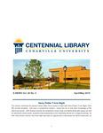 Centennial Library E-News, April/May 2019 by Cedarville University