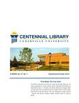 Centennial Library E-News, September/October 2019 by Cedarville University