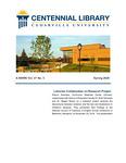 Centennial Library E-News, Spring 2020 by Cedarville University