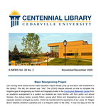 Centennial Library E-News, November/December 2020