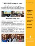 Centennial Library E-News, September/October 2021 by Cedarville University