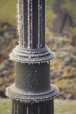 Frosty the Lamp Post