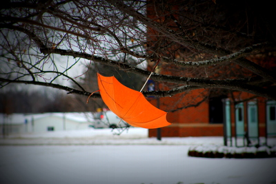 The Adventure of the Orange Umbrella
