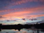 Cedarville Sunset by Joshua Decker