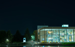 Bible building at night by Gideon Meyer