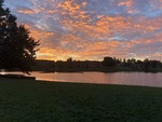 Sunrise in Cedarville by Abigal Curtis