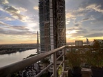 Sunset Over the Chao Phraya by Michaela Gentry