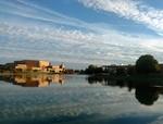 Cedar Lake Reflection by Emily Kuhn