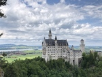 Schloss Neuschwanstein by Jerry Baum