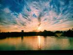 Lake Sunset by Denise Dykema