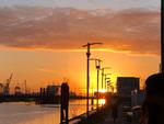Sunrise on the River Liffey by Katie Gosman