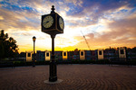 Morning Clock Tower by Nathaniel McClain