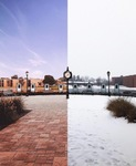 The Beautiful Contrast of Seasons by Mitchell Bowser