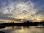 Sun Dog Sunset by Katlin M. Eubank