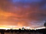 Late Summer Sky (Seasonal Colors) by Charles N. Pomles