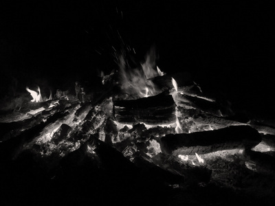 Flames in the Night