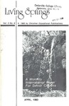 April 1980 (Vol. 3 No. 8) by Cedarville College