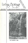 September 1980 (Vol. 4 No. 1) by Cedarville College