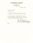 Letter to Jane Frame