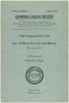 Cedarville College Bulletin, Volume I, Number 3 by Cedarville College