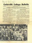Cedarville College Bulletin, Vol. XX, No. 8
