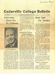 Cedarville College Bulletin, Vol. XXVIII, No. 4