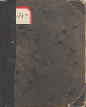 1867 Journal by Martha Murdock McMillan