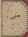 1908-1909 Journal