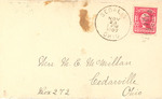 Letter Addressed to Mrs. M.E. McMillan