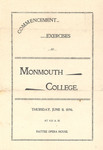 Monmouth College Commencement Exercises