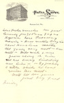 Letter from Fred MacMillan