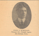 Fred MacMillan Newspaper Clipping