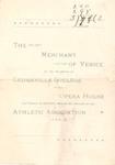 The Merchant of Venice Program by Cedarville University