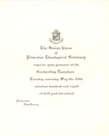 Princeton Theological Seminary Graduation Invitation